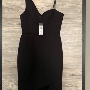 BCBG Off the shoulder Little Black Dress